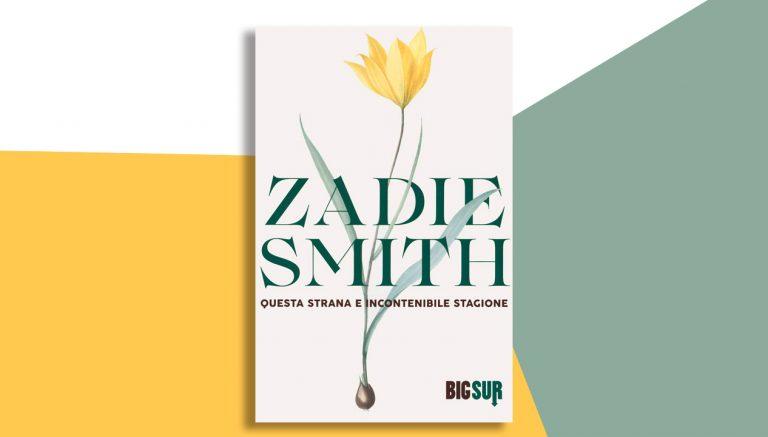 zadie smith copertina